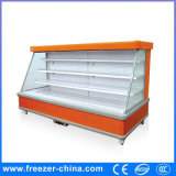 Fruit and Vegetable Display Showcase Commercial Refrigerated Showcase