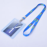 Wholesale Cardholders Vertical Badge with White Lanyard