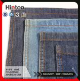 SGS 11oz Twill Cotton Polyester Dark Blue Denim Fabric