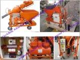 Concrete Mortar Pump Wet Plastering Spraying Machine