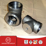 Forged 3000# ANSI B16.11 A105 Reducing Tee