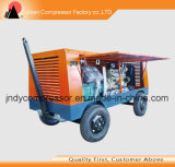 Air Cooled Piston Type Mobile Air Compressor