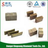 Diamond Stone Saw Blade Segment for Cutting Granite