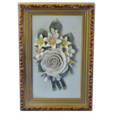 Flower Frame Craft Ceramic 2380