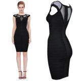 Black High-End Sexy Bodycon Bandage Women Dress