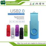 Promotional Gift Free Sample USB Stick Swivel USB Flash Drive (UWIN-360)