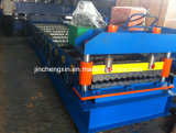 Metal Roof Forming Machine with 4+4kw Hydraulic Motor