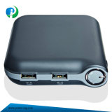 8800mAh Small Size Multifunctional Power Bank in Black