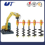 Excavator Attachment Earth Drilling Drives Hydraulic Earth Auger - Auger Drill Earth Borer
