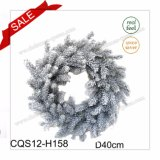 "D16""New Design of 2017 Pine Cones Plastic Decorative Garland"