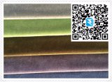 Polyester Knitting Velvet with Cut Pile Looking