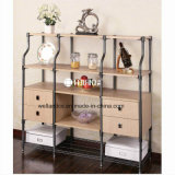 Zhongshan Changsheng Patent Design Livingroom Storage Steel-Wooden Furniture