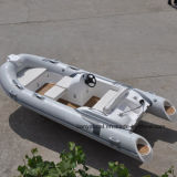 Liya 4.3m 14ft Rigid Hull Inflatable Rubber Motor Boat for Sale