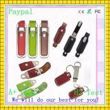 Elegant Leather USB Flash Driver Memory Stick (gc-678)