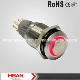Hban 16mm High Head Ring LED Signal Lamp