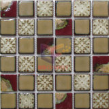 Easy Matching Brown Ceramic Mosaic for Border (CST300)