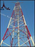 High Voltage HDG Tubular Steel Tower