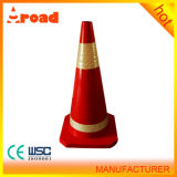 Recycled Rubber Traffic Cone with CE