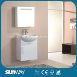 Wall Hung Design Bathroom Furniture with Good Quality (SW-F500T)