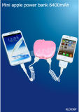 Mini Chargers 6400mAh for iPhone, Smart Phones/Mobile Power Bank Recharger Power (KLD036P)