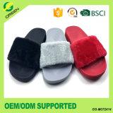 New Design Ladies Sandals Custom Plush Slippers/Slides/Sandals
