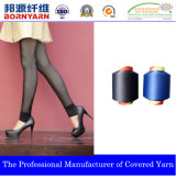 Spandex Covered Yarn with Nylon and Polyester