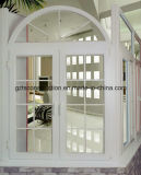 UPVC Doule Glazing Casement Windows with Built-in Grille