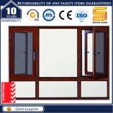 Aluminum Casement Swing Window with Stainless Steel Mesh Screen