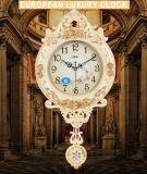 European Creative Wall Clocks Hot Sale Luxury Clock Plastic Type Wall Clock for Home Wall Decor
