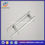 High Quality Chromed Zinc Alloy Door Hardware Shower Glass Door Handle