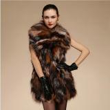 New Fashion Winter Warmest Genuine Fox Fur Vest