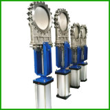 Double Acting Pneumatic Knife Gate Valve