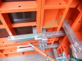 Painted Suppoer Steel Wood Formwork with Clamps