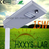 New Design 15W LED Integrated Solar Street Light