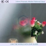 3-6mm Prismatic /Mistlite Patterned Glass with ISO9001
