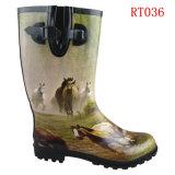 Men Fashion Rubber Rain Boot (RT036)