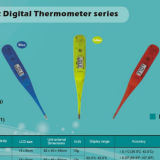 Transparent Digital Thermometer (Waterproof) (modelDT-01D)