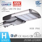 100 Watts UL/Dlc Listed LED Street Light with Philips Chips, Mean Well Driver