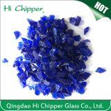 Cobalt Blue Glass Chips