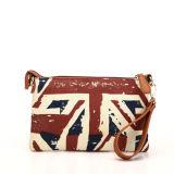 Retro Style British Flag Pattern Wristlet Clutch Bag (MBNO040020)
