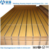 1220*2440*18mm Melamine High Glossy MDF Slatwall