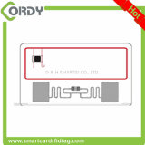 UHF and 13.56MHz 2 chips Dual Frequency Combo RFID Card