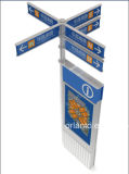 Outdoor Way Finding Aluminium Pylon Sign