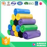 Recycle Material Multi Color Garbage Trash Bag on Roll