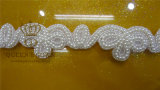 Gorgeous Wedding Sash Rhinestone Trim, Bridal Belt Rhinestone Trim