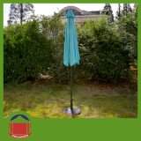 7FT Round Parasol with Crank Handle