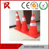 Roadsafe Durable Customized PVC Barricade Cone Barrier Orange Reflective Traffic Cone