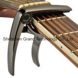 Deluxe Guitar Capo Golden Bronze Black / Guitar Parts Accessories