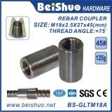 45# Steel Rebar Splicing Coupler for Connecting Rebars