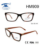 Top Selling Fashionable Acetate Optical Frame Eyewear (HM909)